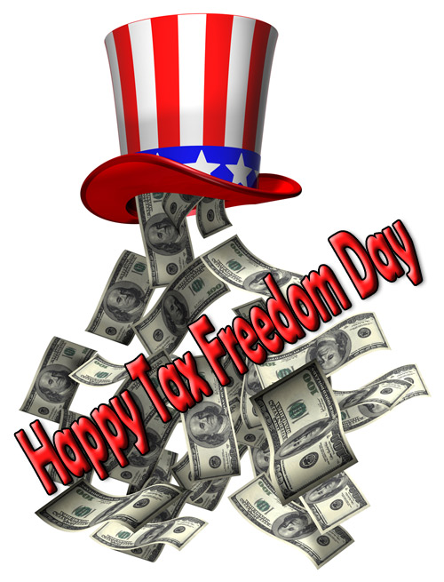 Today is Tax Freedom Day